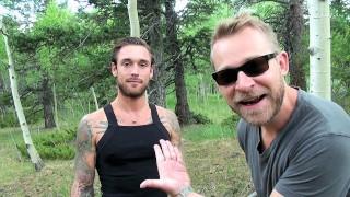 Biggus Dickus - Hung Stud Ethan Ever Takes Naked Hike - Colorado Mountains