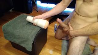 Prostate Milking Multi Cum and Moaning w/ Riley Reid Fleshlight