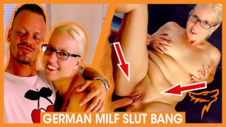 German Blondie JANA SCHWARZ FUCKED and fed CUM! WOLF WAGNER wolfwagner.love