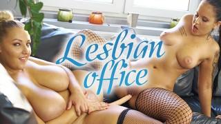 VRConk Chubby Girls Masturbating With Double Dildo VR Porn