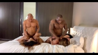 Fun orgy porn home fucking Rob & Ricky and fucking girls