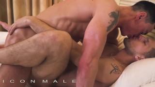 IconMale - Hunks gets a big load post massage