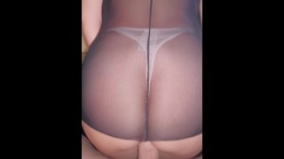 Fucking with different sexy thongs!