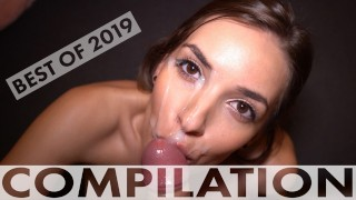 Best Of Sweet Bunny 2019 - Hard Sex, Anal, Sloppy Blowjobs And Lots Of Cum