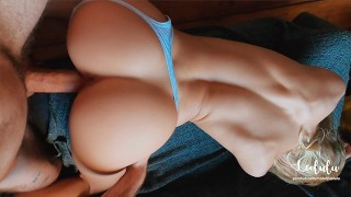 Saying Goodbye to the Couch before moving out - Amateur Couple LeoLulu
