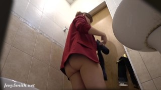 I've got a job. Jeny Smith gets naked at her new job. Hidden Cam Prank
