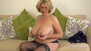 Busty 45yo Auntie Camilla JOI