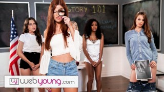 WebYoung Redhead Pussy Flasher Caught at School