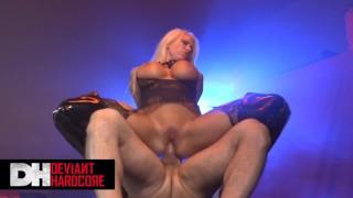 Deviant hardcore - Big tit Blonde sub Lolly Ink likes it rough