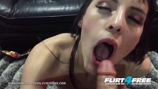 Mirannda Madinson on Flirt4Free - Sexy Petite Latina w Dildo Foot Fetish