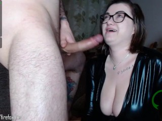 Sucking cock at its finest