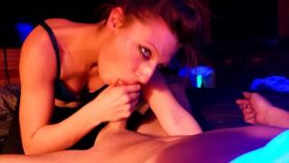 Sislovesme Hot Brunette Kandi Luv Gives Insane POV Blowjob