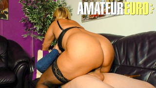 XXX Omas - Mature MILF With Young Man In Bedroom - AmateurEuro