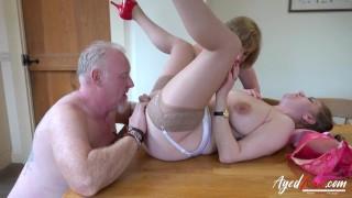 AgedLovE Horny Mature Ladies Enjoying Hardcore