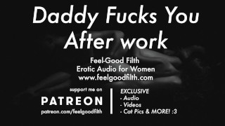 DDLG Roleplay: Daddy Makes You Cum With A Wand After Work (Erotic Audio)