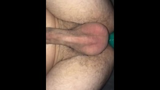 anal pegging using mr hankeys toy (onlyfans canndyred0