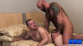 BREEDMERAW Muscular Jett Reed Fucked Deep By Hairy Bear