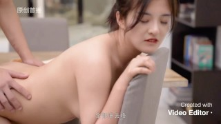 Chinese student fuck at home