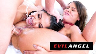 EvilAngel - Jane Wilde & Adriana Chechik Out-Slut Themselves