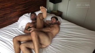 Michael Lucas and Wagner Vittoria