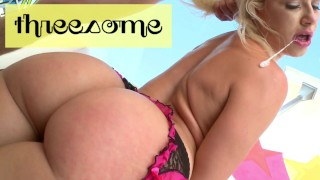 BANGBROS - Sexy PAWG Anikka Albrite Havin' Fun With 2 Big Cocks