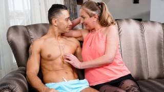 LustyGrandmas Thirsty Granny Seduces Her New Jock Neighbor