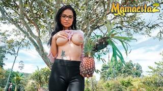 Carne Del Mercado - Perfect Tits Latina Teen Seduced And Fucked Hard
