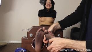 Ava DaLush tickled in leggings
