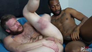 Hunk Brian Bonds gets Fucked Raw by Hung Uncut Top