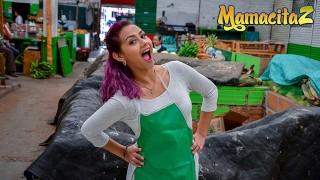 Carne Del Mercado - Sexy Latina Chick Bored At Work Want To Fuck Real Bad