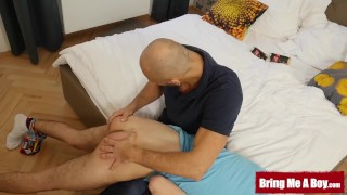 BRINGMEABOY Twink Curtis Cameron Spanked And Fucked By Daddy