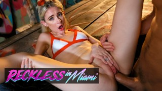 RecklessInMiami - Petite & Horny Jessie Saint Accomplishes Her Target