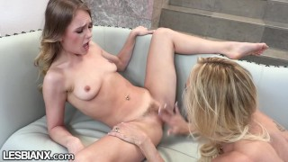 LesbianX - Brandi Loves Gives Teen Advice & Multiple Orgasms