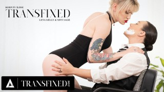ADULT TIME Transfixed: Sinn Sage Puts Strapon in Lena Kelly's Ass