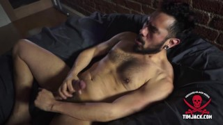 Solo jerk off with Andy Arcade in San Francisco