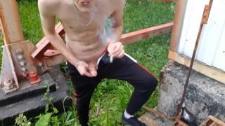 Russian boy with mats fucks, swears and humiliates a virtual fag