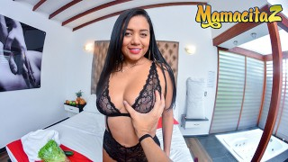 Carne Del Mercado - Fernanda Martinez Picking Up A Gorgeous Big Tits Latina Colombiana MILF