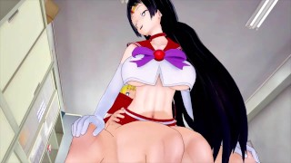 FUTA SAILOR VENUS X SAILOR MARS (3D HENTAI)
