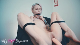 Restriction Belts BDSM Training and Fuck Machine (MykinkyDope)