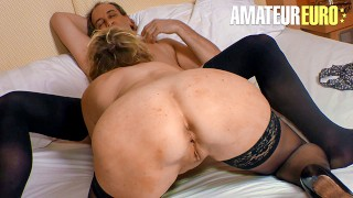 XXX Omas - Mature German Granny Gets Her Pussy Fucked By Horny Neighbour