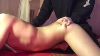 I fuck the best ass femboy and he cums with pleasure