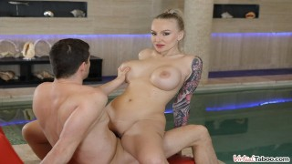 VIRTUAL TABOO - Big Tittie Stepmom Relieves Stress