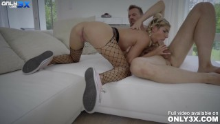 Sexy, slim blonde Missy Luv hardcore fucking with Erik Everhard - scene by Only3x LOST