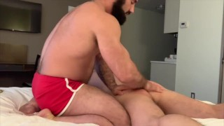 Levi Phillips massaged and fucked by Jaxton Wheeler