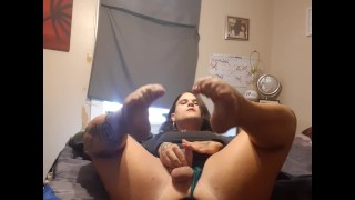 Courtney Sunshines afternoon anal stretching and cum