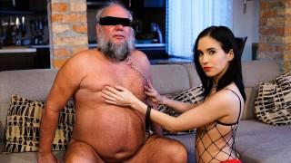 GrandpasFuckTeens Young Dominatrix Takes A Hard Care Of The Grandpa Next Door