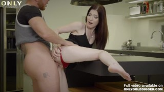 Cheerful Mia Evans enjoys the cock for being rich - scene by Only3x GoldDigger