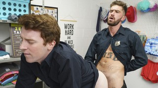 Bored Of Being Straight, Two Guards Fuck Each Other