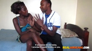 Black Girl with Nice Booty Fucked By Boyfriend