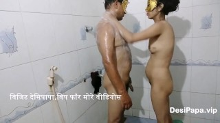 Desi Indian Bhabhi Ki Shower Mai Mast Chudai